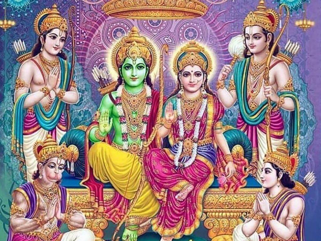 Lord Rama Hanuman