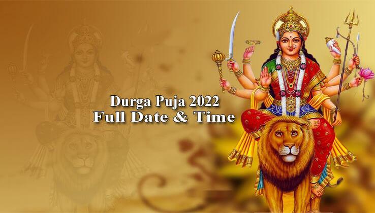 Durga Puja 2022 Date